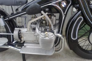 BMW R11 restauriert