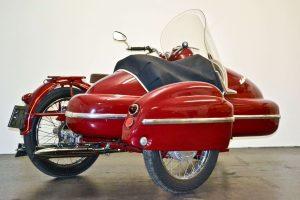 Jawa 350 Perak with Velorex sidecar