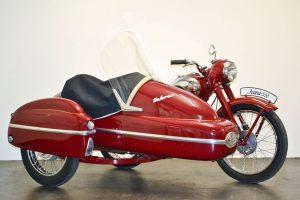 Jawa 350 Perak mit Velorex Beiwagen