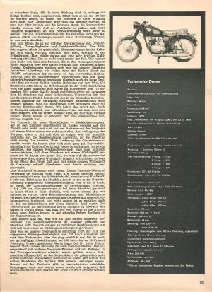 Pannonia Modell 1958 Test bei DSV