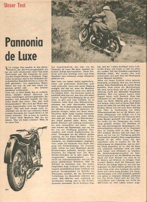 DSV testet Pannonia de Luxe
