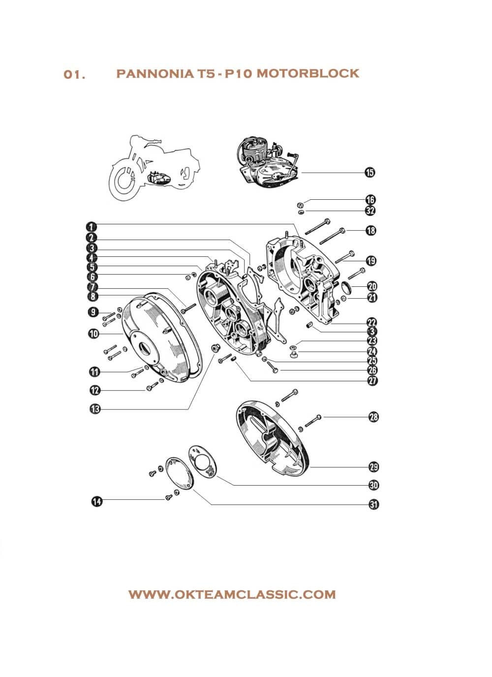 01. Engine parts