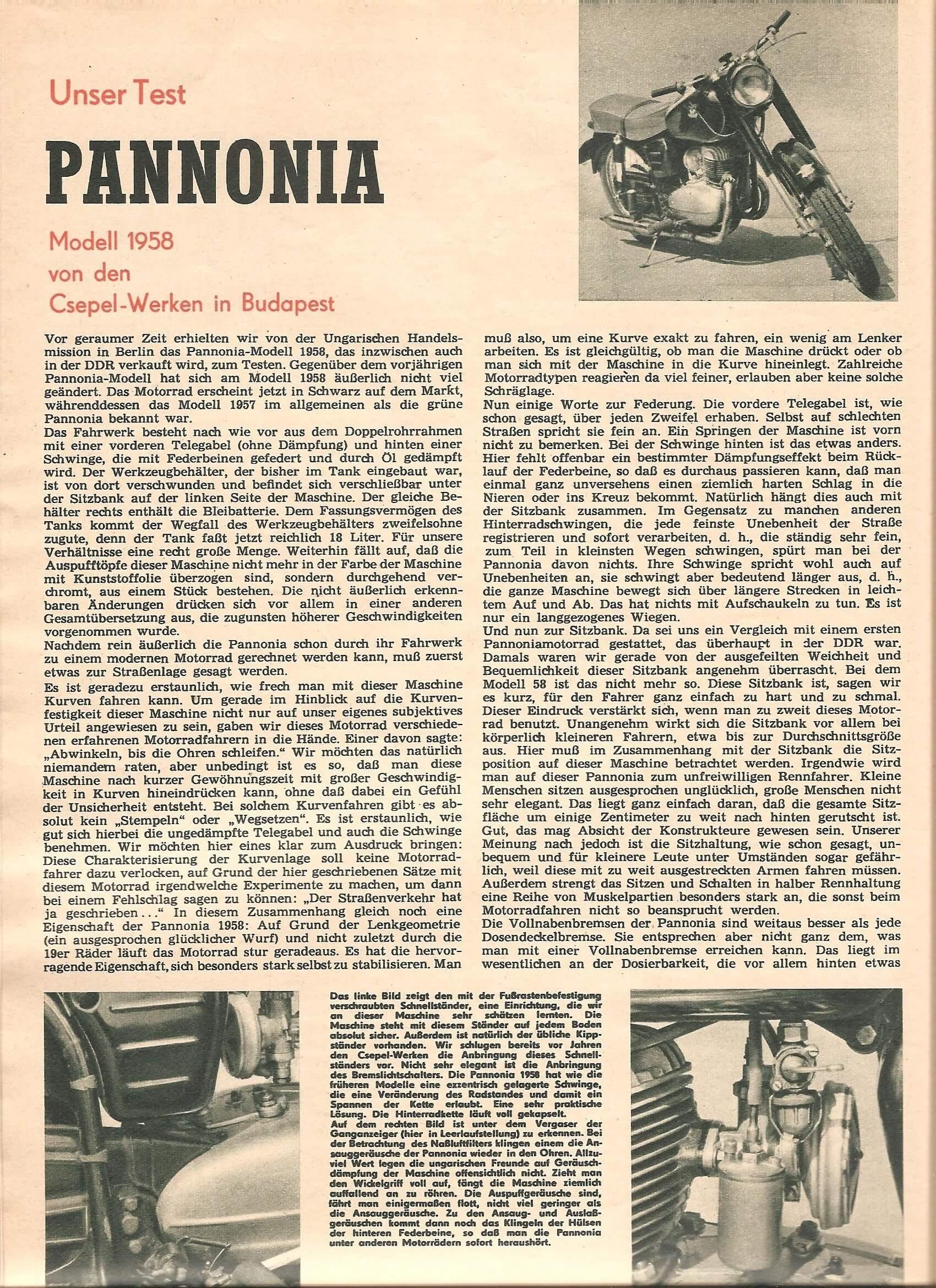 Pannonia Gast bei DSV
