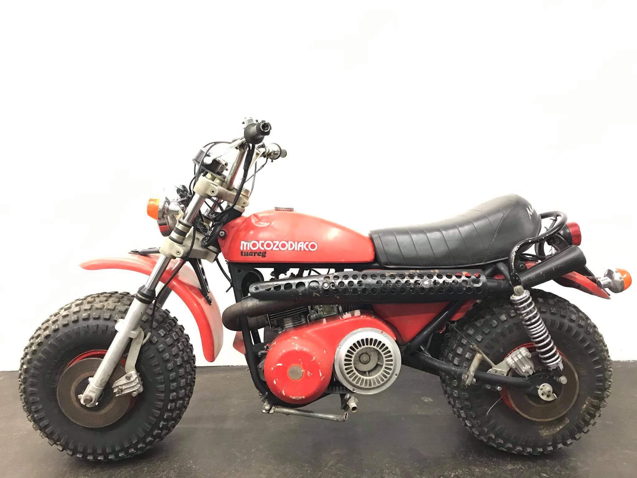 Moto Zodiaco Tuareg- Bud Spencer Motorrad - OK Team Classic